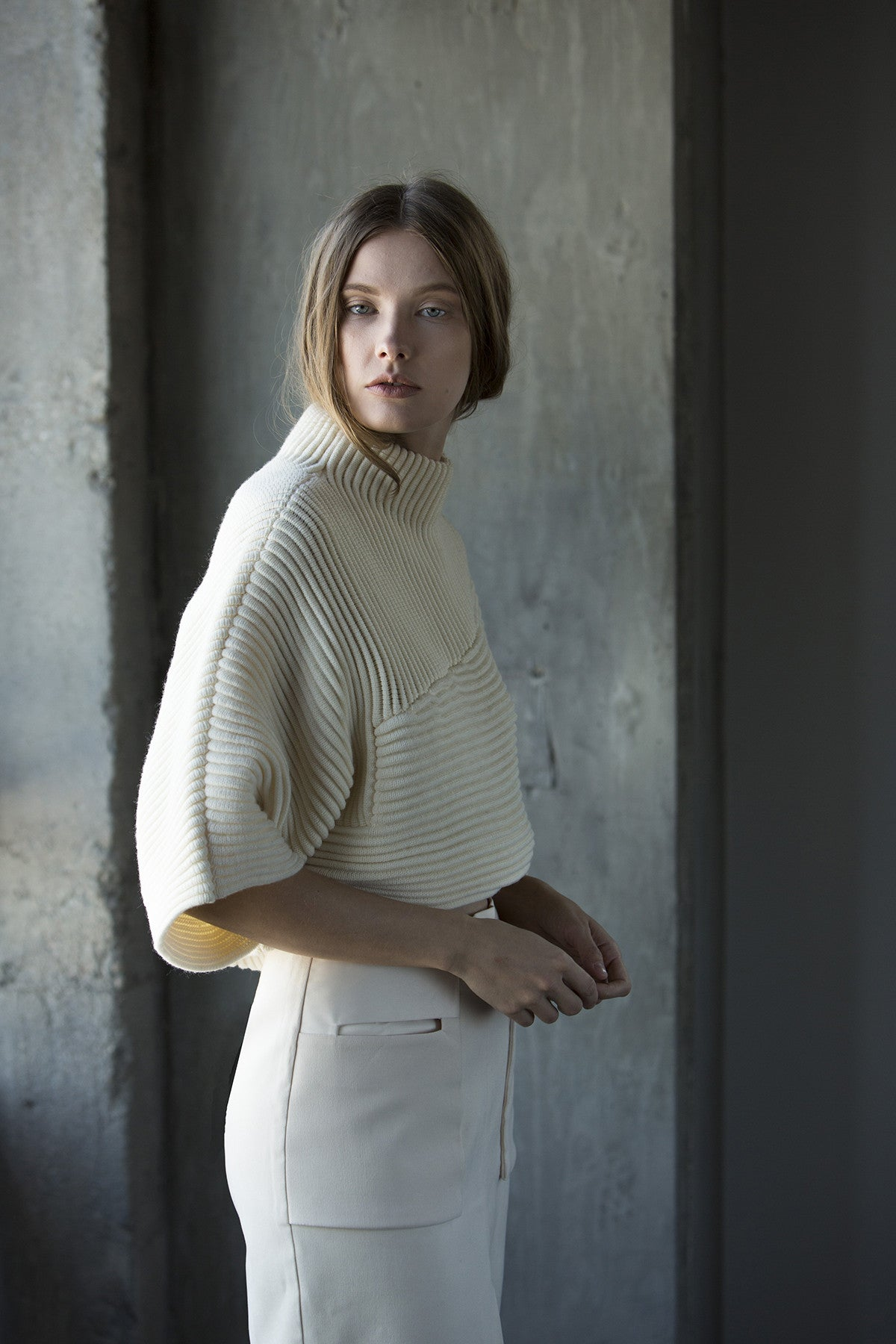 Nicole Sweater in Cream