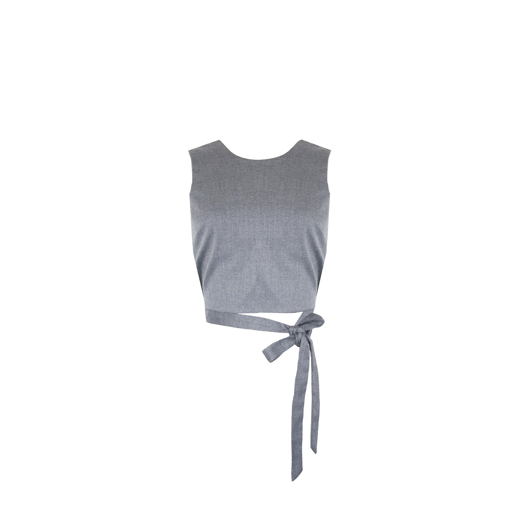 SALE | Katherine Top in Steel