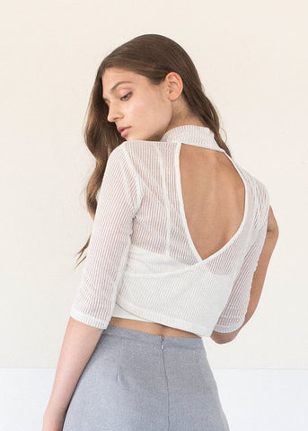 Angelina Top in Rosé