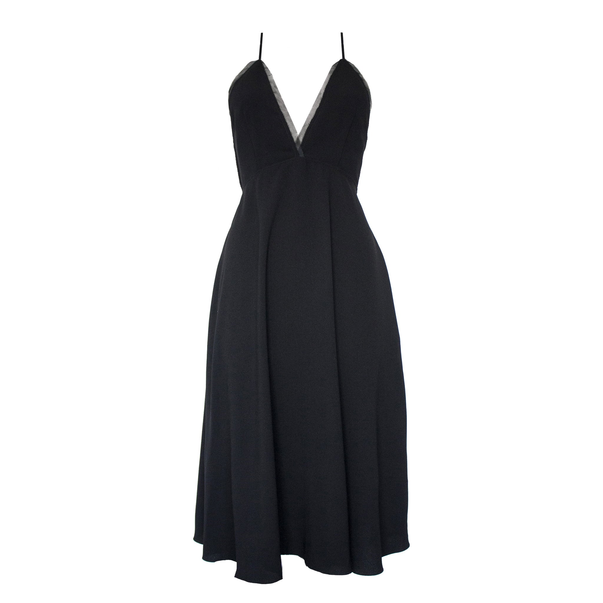 Magda Dress in Black
