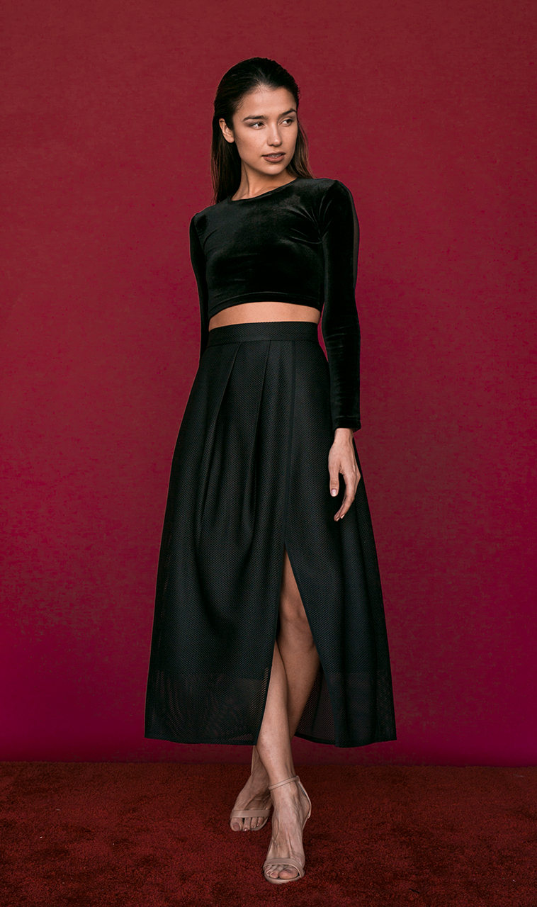 SALE | Melanie Skirt in Black