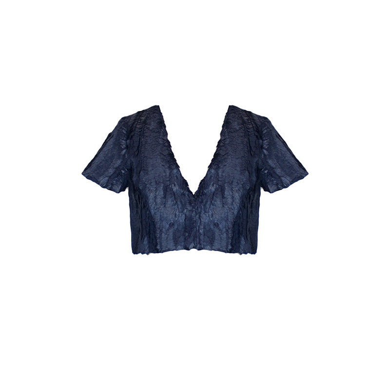 Nadya Top in Indigo