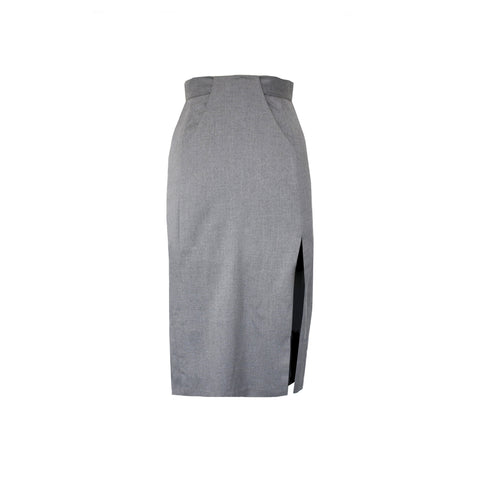 Polina Skirt in Steel