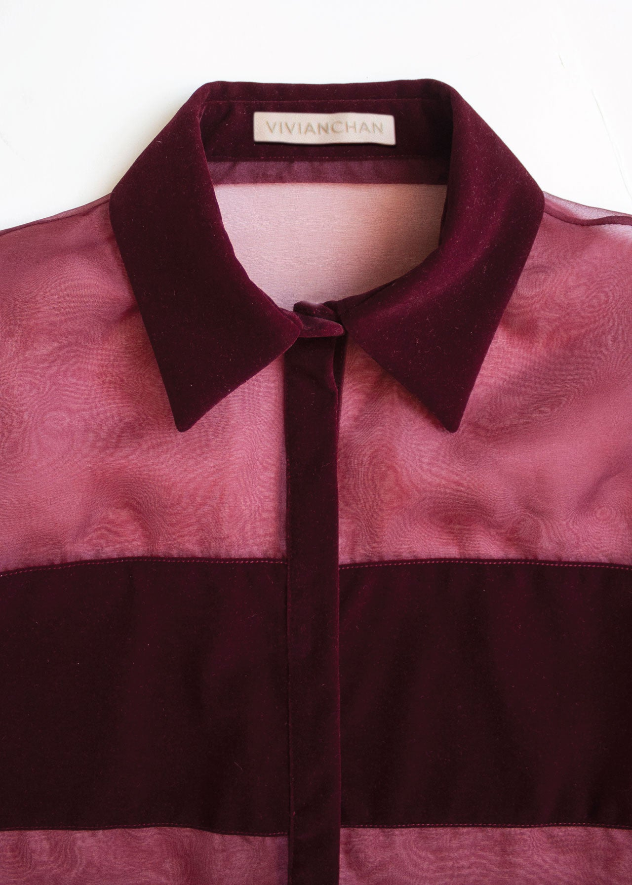Rosie Top in Merlot