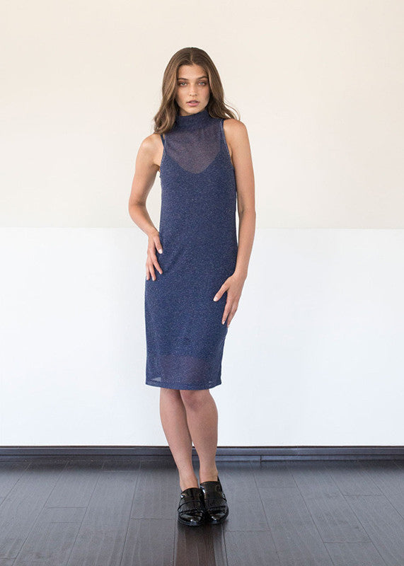Sabrina Dress in Blue