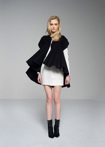 Bailey Coat in Lines