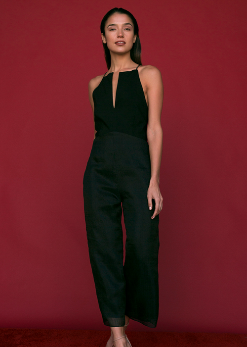 Theresa Jumpsuit in Black