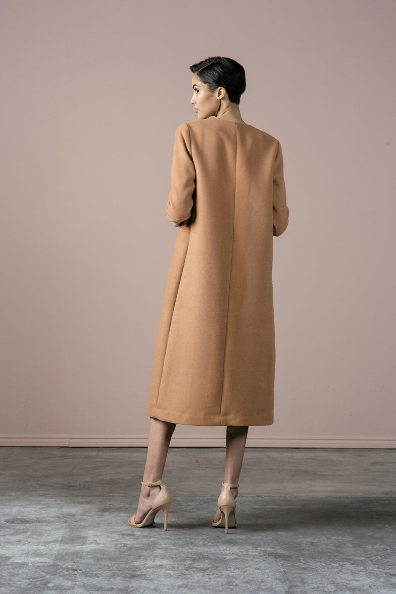 Cuttrell Coat in Cork