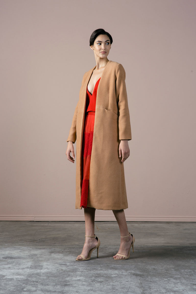 SALE | Cuttrell Coat in Cork