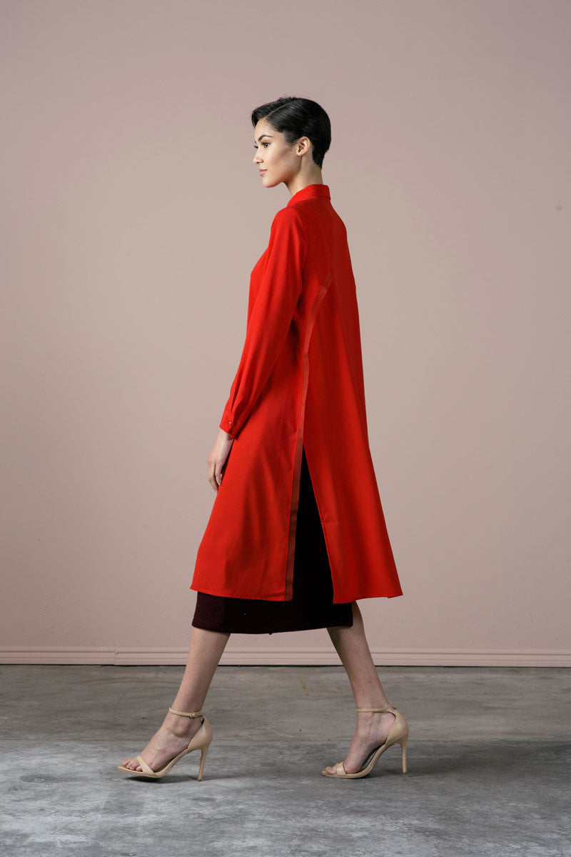 SALE | Roman Dress in Red