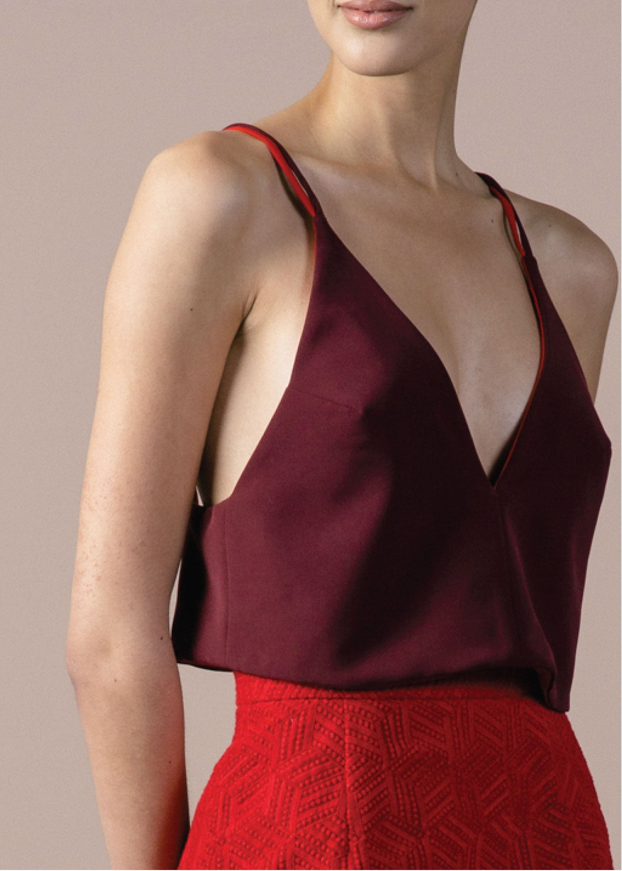 SALE | Winston Top in Merlot