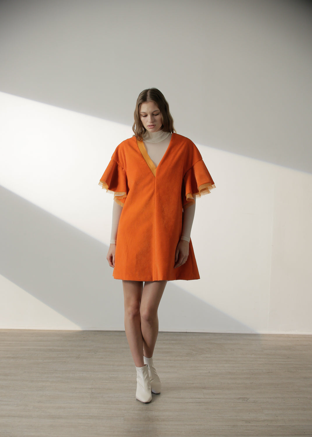 Kimiko Dress in Orange