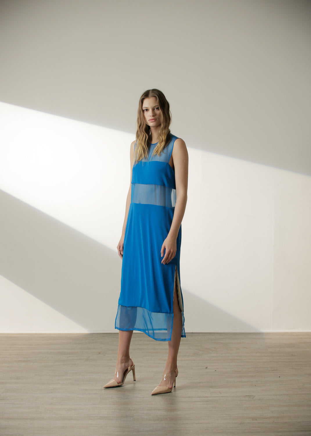 FALL EXCLUSIVE | Candace Dress in Cyan Blue