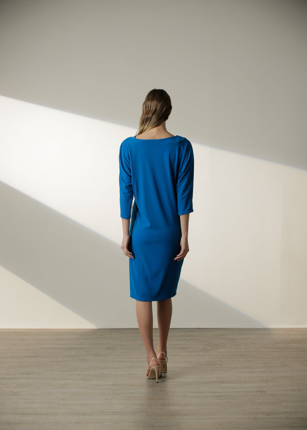 FALL EXCLUSIVE | Sylvia Dress in Cyan Blue