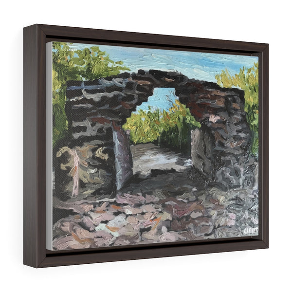 San Gervasio Arch - framed painting printed on canvas
