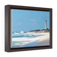Punta Sur Lighthouse - framed photo printed on canvas