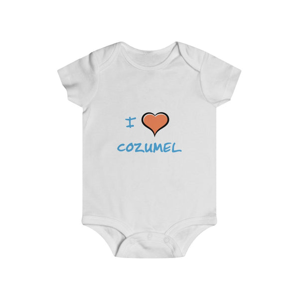 I Love Cozumel - Infant Rip Snap Tee