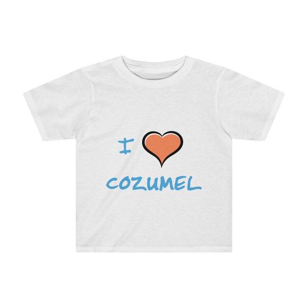I Love Cozumel - Kids Tee