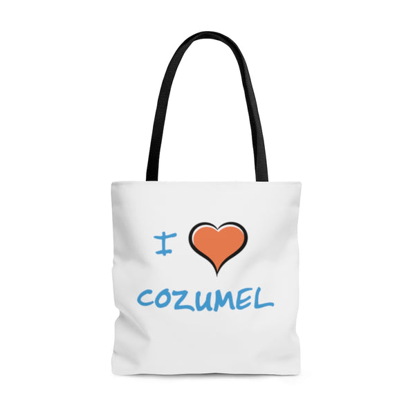 I Love Cozumel - Beach Bag