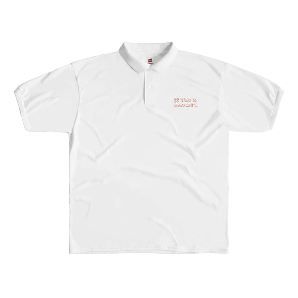 Cozumel Classic - White Men's Polo Shirt