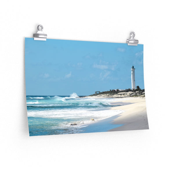 Punta Sur Lighthouse -  photo poster