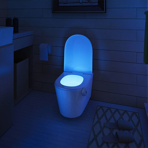 Smart Motion Sensor LED Toilet