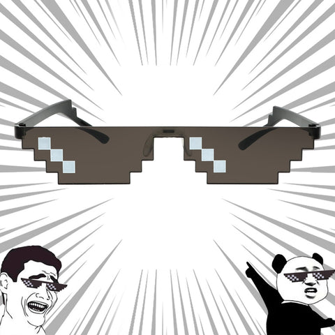 Pixelated Sunglasses