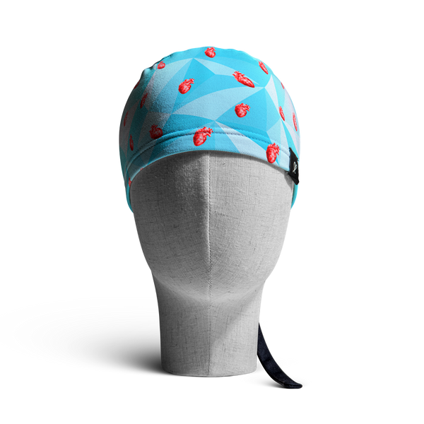 WooCaps Cold-Hearted Scrub Cap Front View