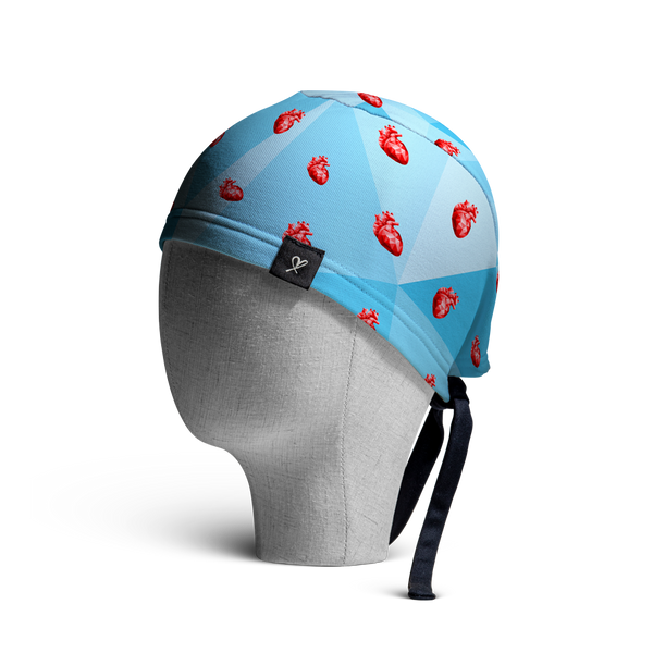 WooCaps Cold-Hearted Scrub Cap Side View