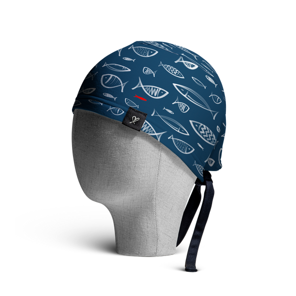 "The ""Aegean"" WooCap Skull Cap Side"