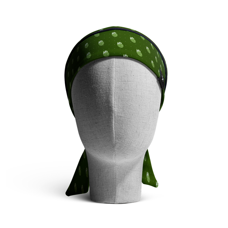 WooCaps 8-Bit Long Hair Front View