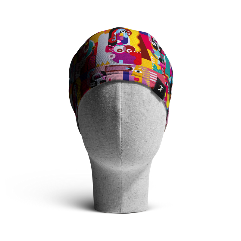 "The ""Mujeres"" WooCap Loose Beanie Front"