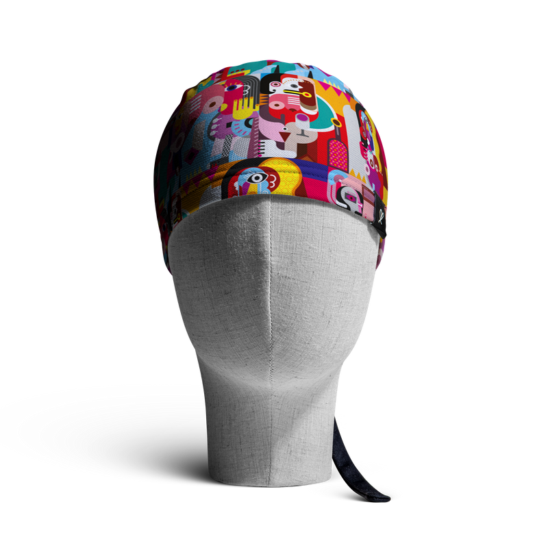 "The ""Mujeres"" WooCap Skull Cap Front"