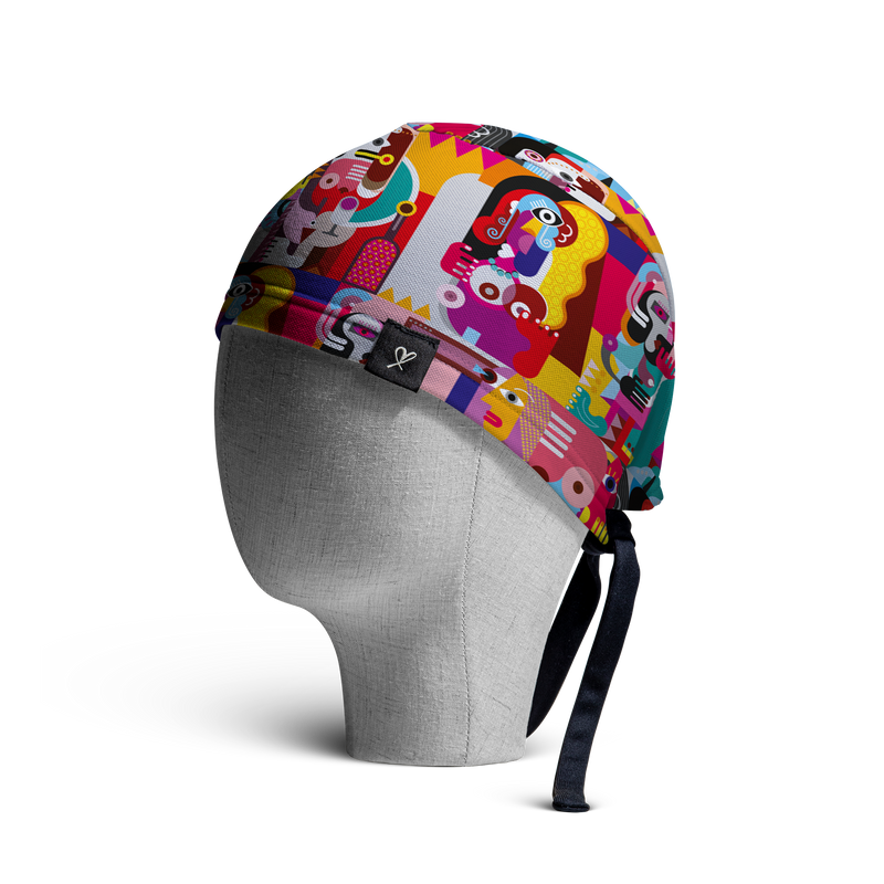 "The ""Mujeres"" WooCap Skull Cap Side"