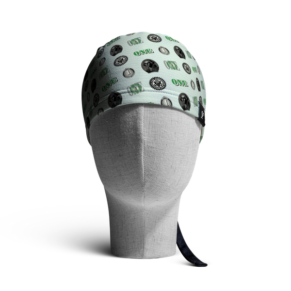 "The ""One"" WooCaps Skull Cap Front"