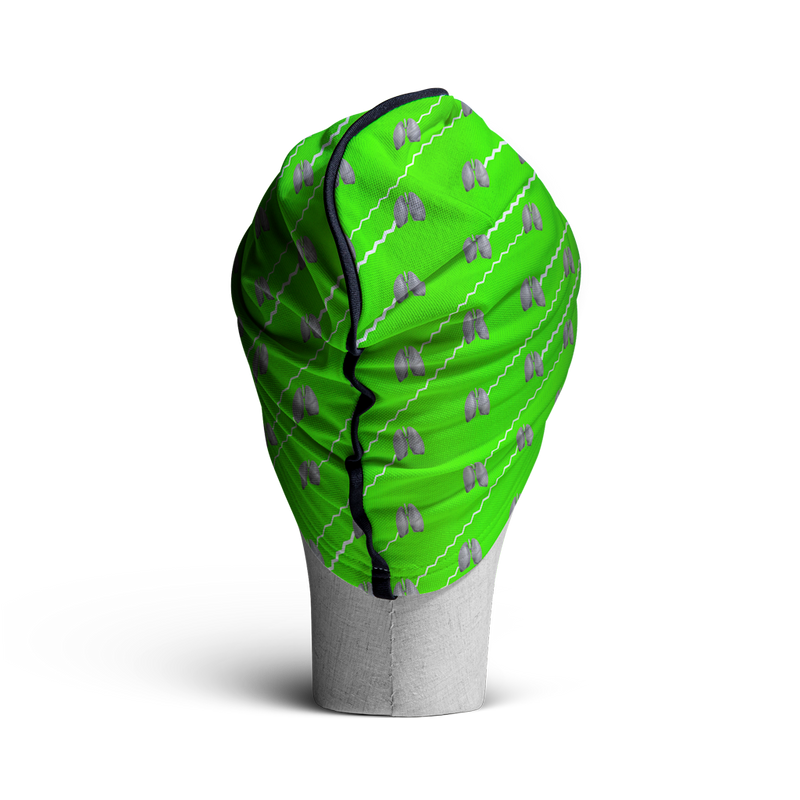 WooCaps Ujjayi Loose Beanie Rear View