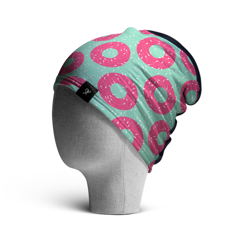 WooCaps Donuts Loose Beanie Side View