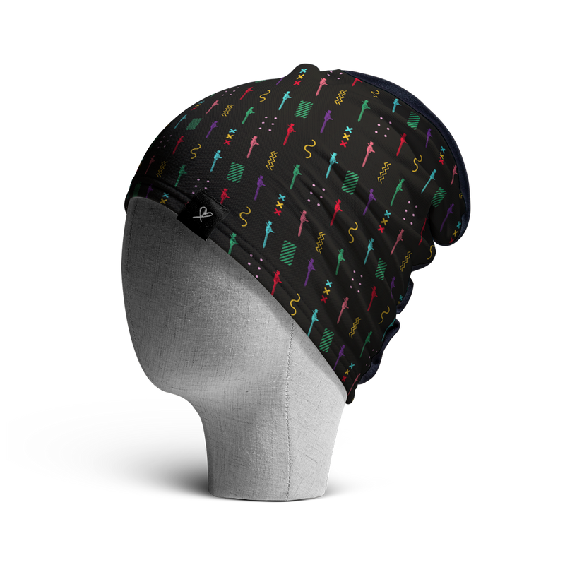 WooCaps Keyholes Loose Beanie Side View