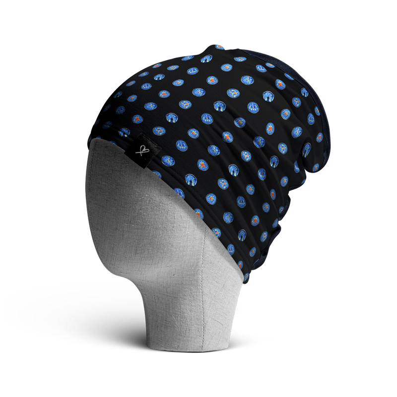 WooCaps MRI Loose Beanie Side View