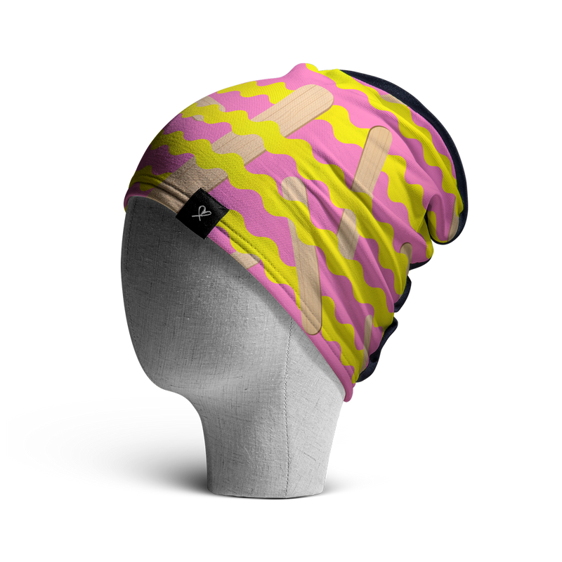 WooCaps Popsicle Loose Beanie Side View