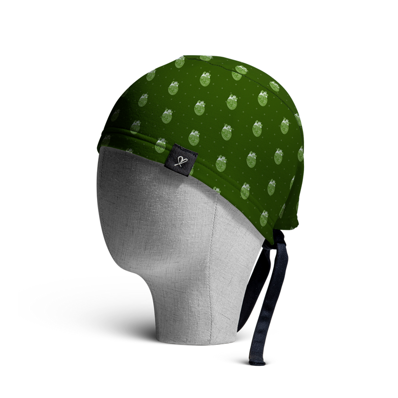 WooCaps 8-Bit Scrub Cap Side View