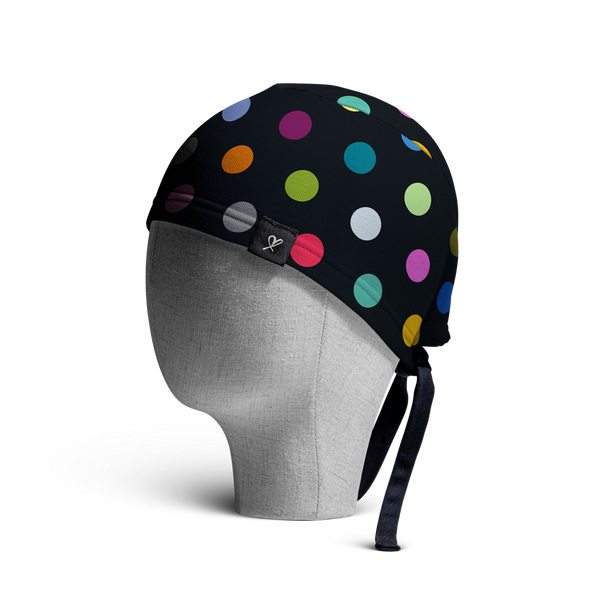 WooCaps Bokeh Scrub Cap Side View