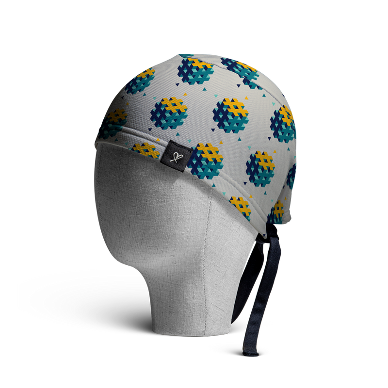 WooCaps Cubicles Scrub Cap Side View