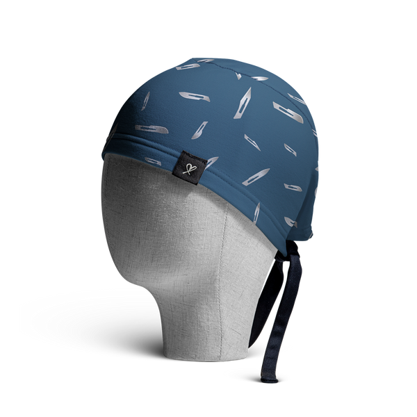WooCaps Debris Scrub Cap Side View