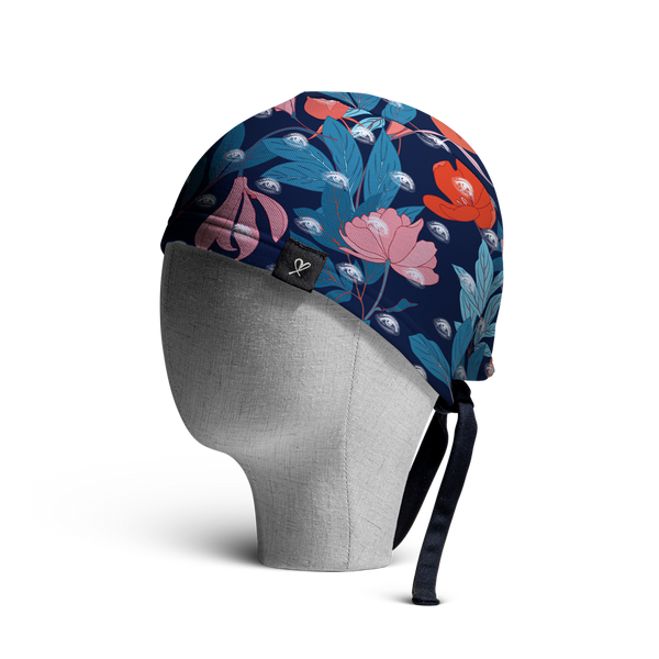 WooCaps In Color Scrub Cap Side View
