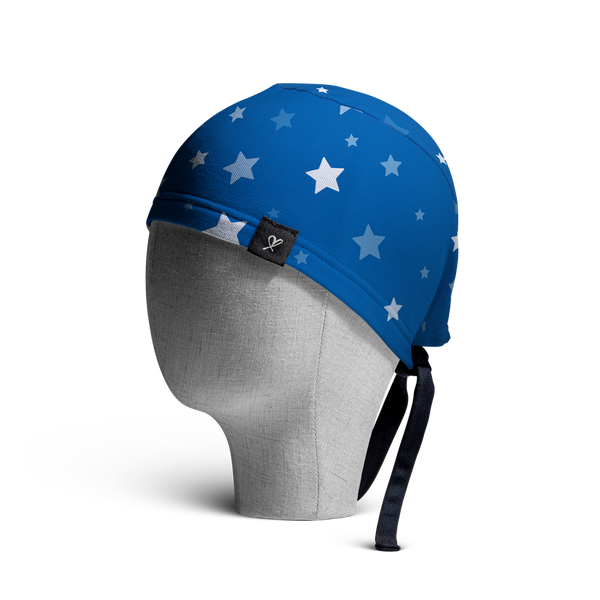 WooCaps Make A Wish Scrub Cap Side View