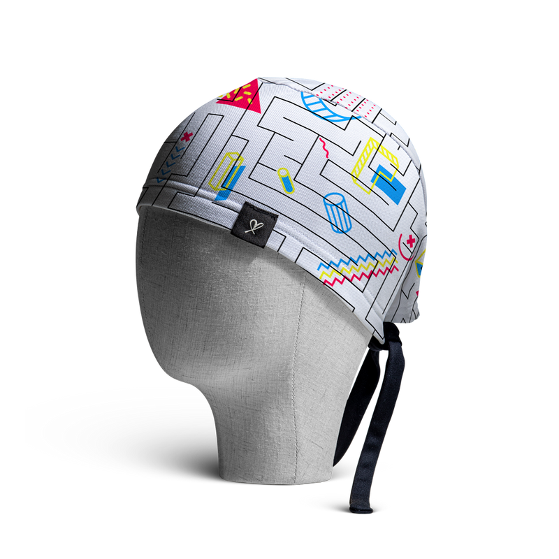 WooCaps Mindtrap Scrub Cap Side View