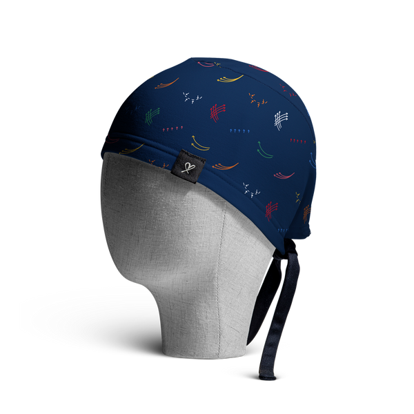 WooCaps Nip Tuck Scrub Cap Side View
