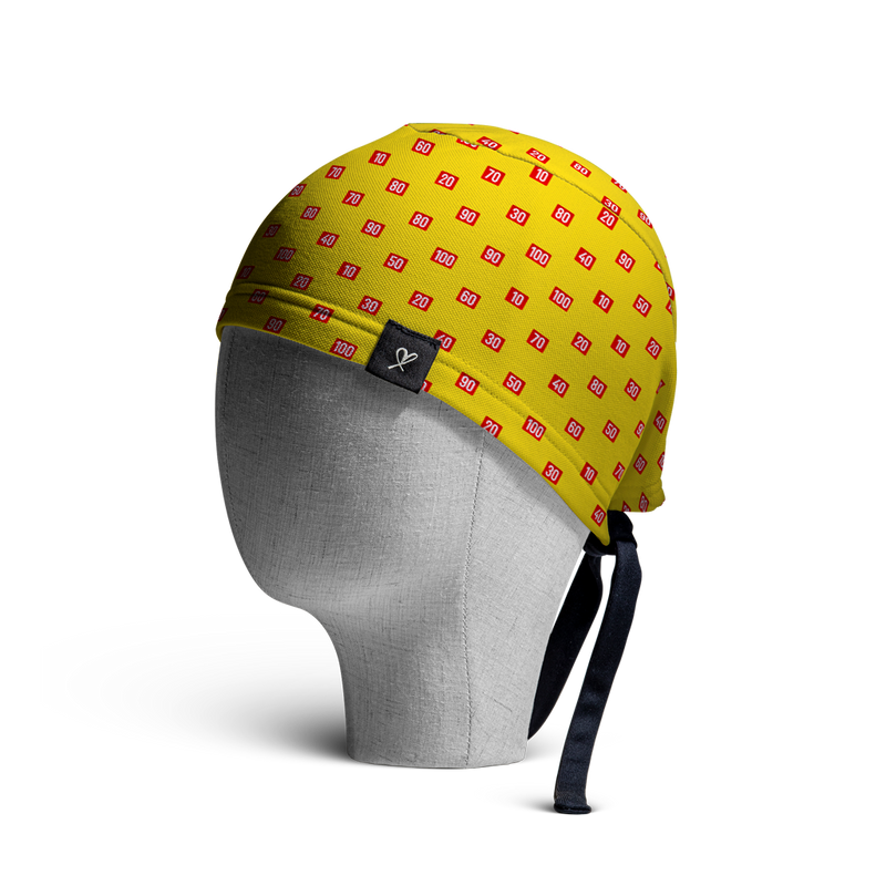 WooCaps Scale Converter Scrub Cap Side View