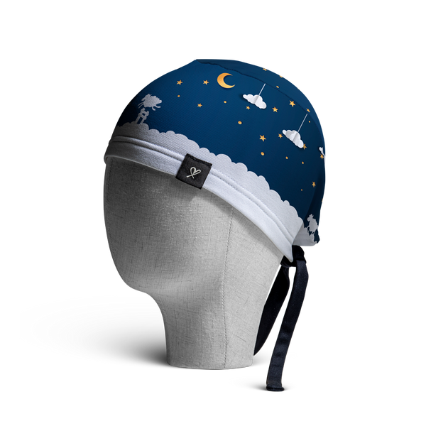 WooCaps Sweet Dreams Scrub Cap Side View